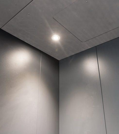 Ascenseur de charge   Série Titan   Lumières DEL au plafond