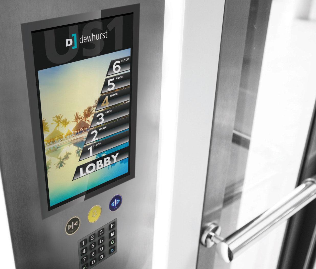 Noddem | Ascenseurs technologiques | Panneau tactile