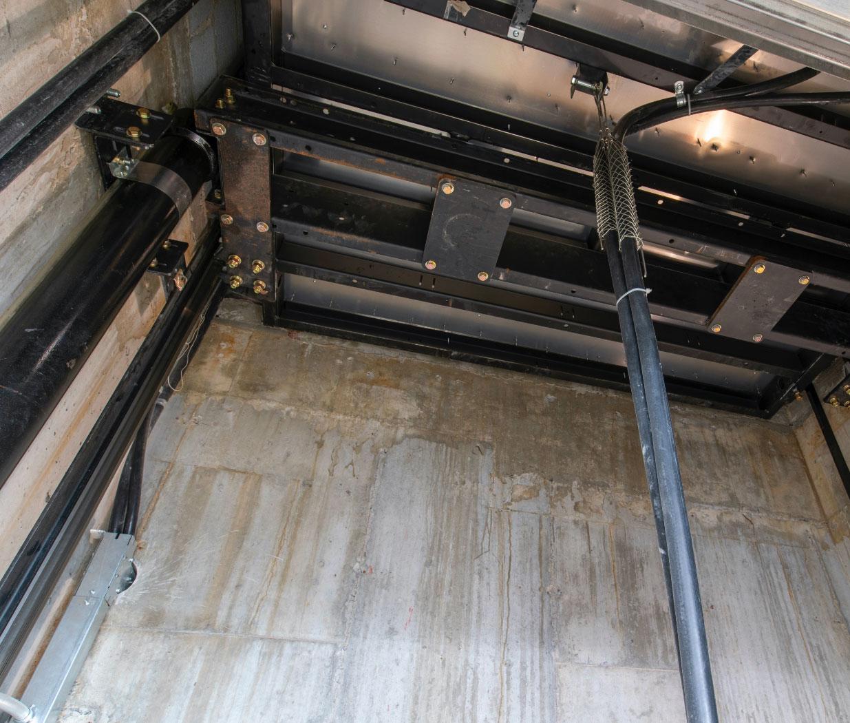 Technologie de pointe | Déplacement d'ascenseur en douceur